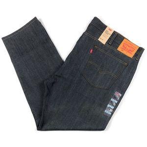 Levis 502 Reg Taper Rigid Dark Blue Jeans 46x32